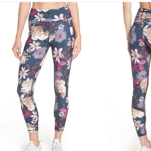 ce07f4c325f49 Sweaty Betty Zero Gravity Floral print leggings